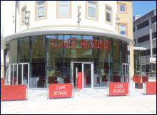 Air Conditioning Services for Cafe Rouge